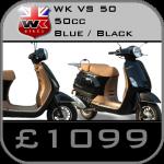 WK 50cc Replica Vespa Scooter