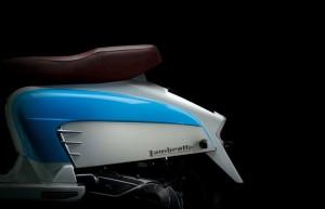 Lambretta LN125 - Rear Side