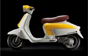 Lambretta LN125 - Yellow