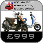 WK Mii 50 cc Scooter