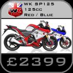 WK SP125 Supersport Motorcycle