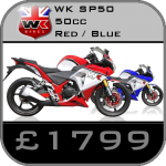 WK Sp50 50cc Supersport Motorcycle