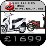 WK 125 C Scooter