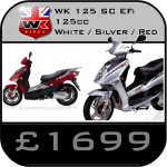 WK 125 SC Scooter
