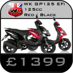WK GP 125 cc Scooter