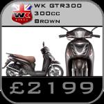 WK GTR 300 cc Scooter