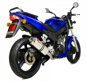 Blue WK 125 R for sale (Rear Angle)