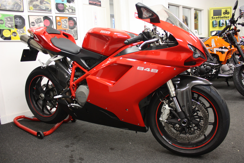 Ducati 848 - Dundee Motorcycles & Scooters
