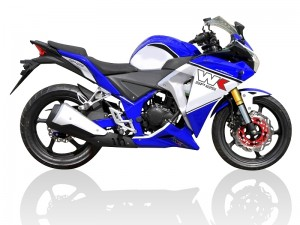 WK SP125 125cc Super Sports Motorcycle - Blue