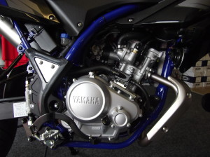 Yamaha WRX 125 - Black - Engine