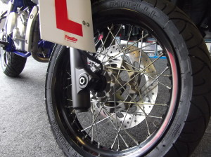 Yamaha WRX 125 - Black Front Wheel