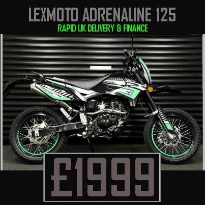 Lexmoto Adrenaline 125cc Supermoto