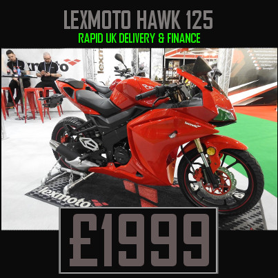 Lexmoto Hawk 125cc Sports Bike