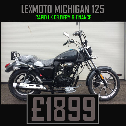Lexmoto Michigan 125cc Cruiser