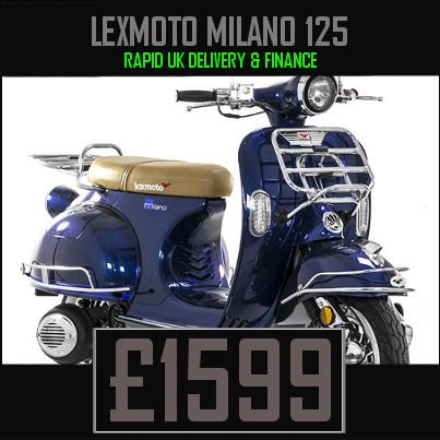 Lexmoto Milano 125cc Retro Scooter