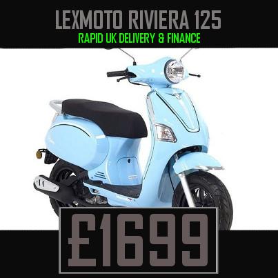 Lexmoto Riviera 125cc Scooter