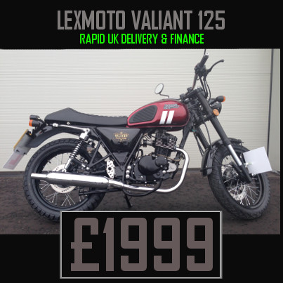 Lexmoto Valiant for sale