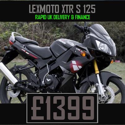 Lexmoto XTR S 125cc Sports Bike
