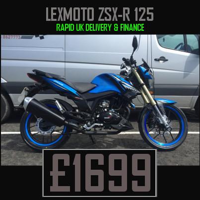Lexmoto ZSX R 125cc