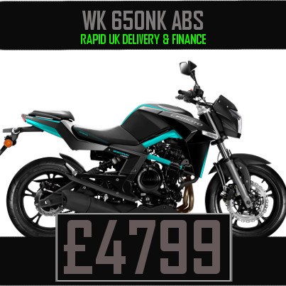 WK 650NK ABS 650cc Chinese Naked Motorcycle