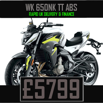 WK 650NK TT ABS 650cc Chinese Naked Motorcycle