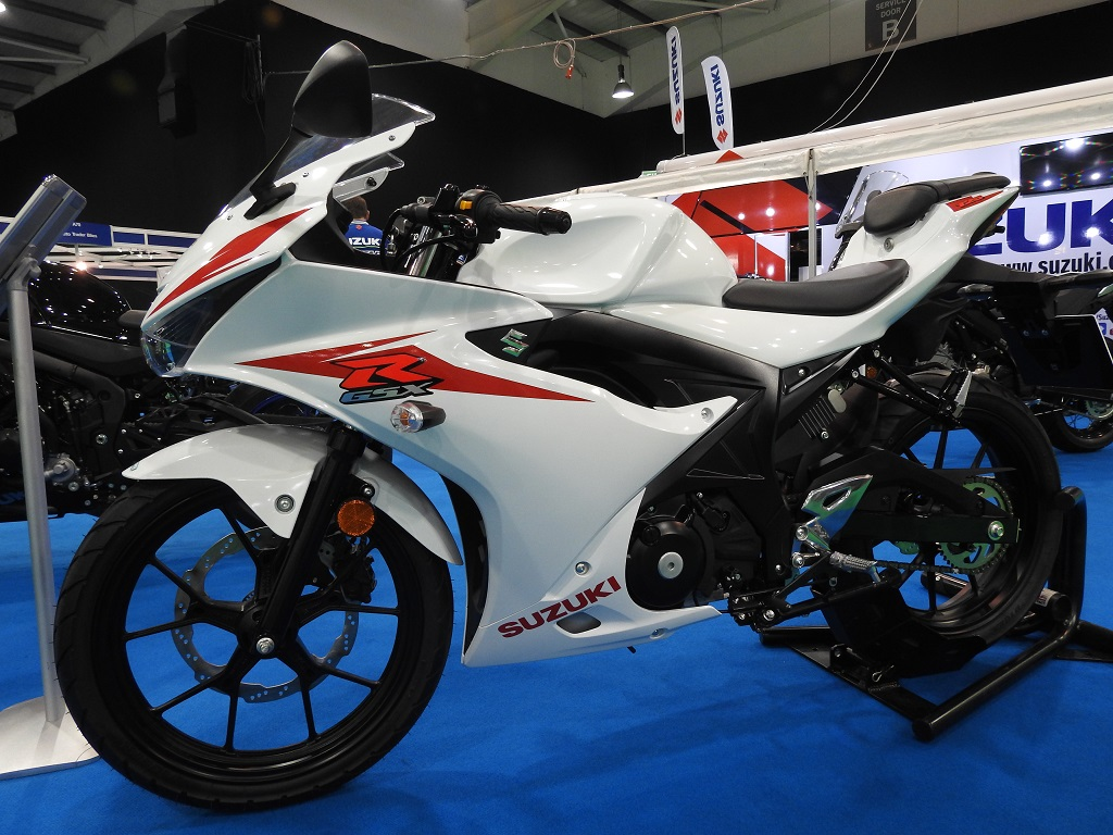 Suzuki GSXR 125 Left Side White
