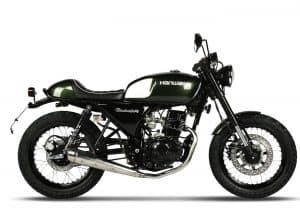 Hanway BlackCafe 125 Racing Green