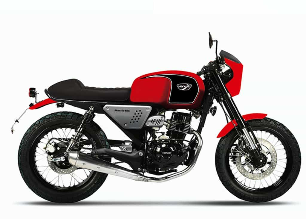 Hanway Masculine 125 Red