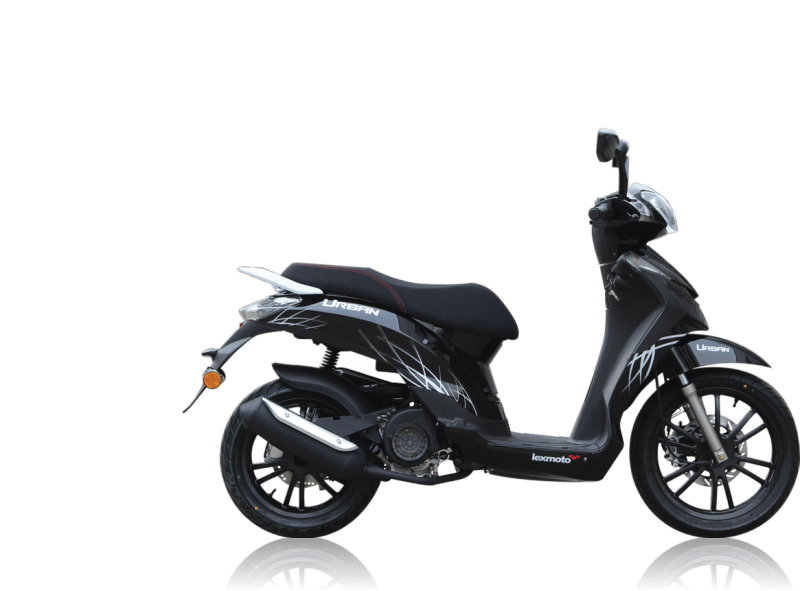 finance lexmoto urban 125 125cc scooter delivered nationwide. Black Bedroom Furniture Sets. Home Design Ideas