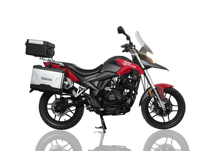 Sinnis Terrain 125 Lowest Rate Finance Around Uk Delivery