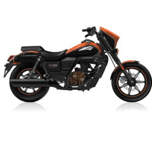UM Renegade Sport S 125 Black/Orange