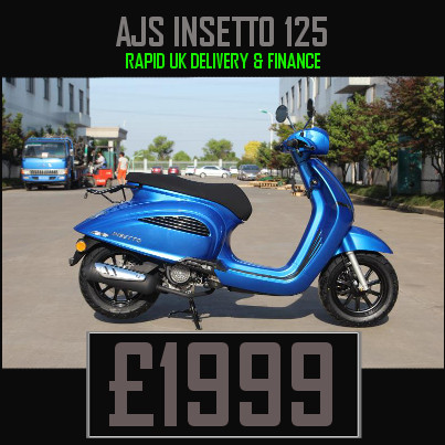 AJS Insetto 125cc Scooter