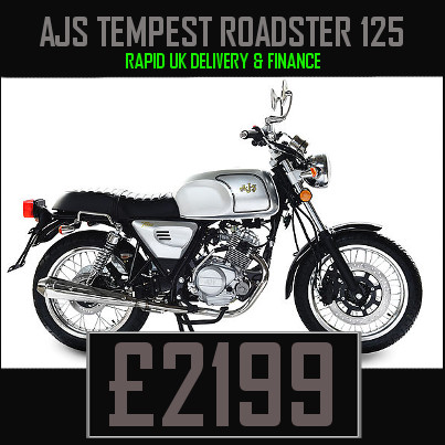 AJS Tempest Roadster 125cc