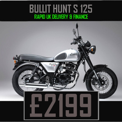 Bullit Hunt S 125cc Retro Bike