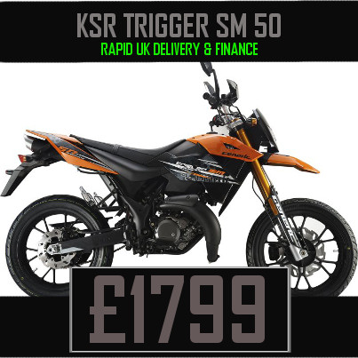 KSR Trigger 50 50cc Supermoto Motorcycle