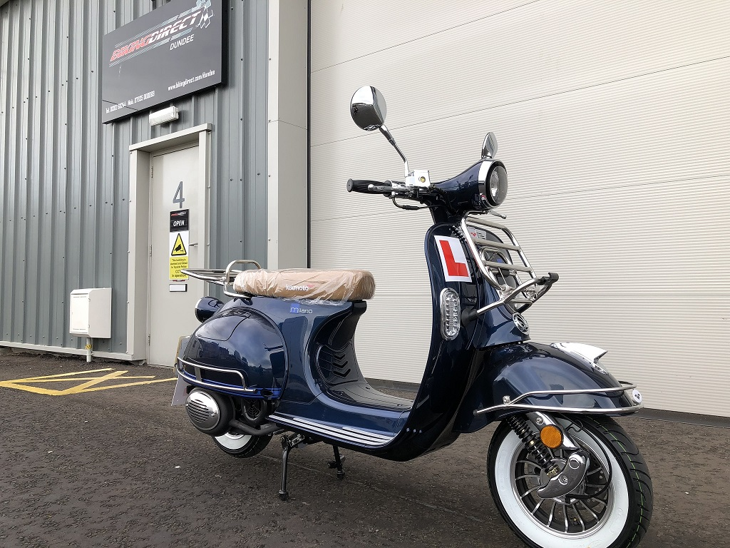 Lexmoto Milano - Blue Right Front