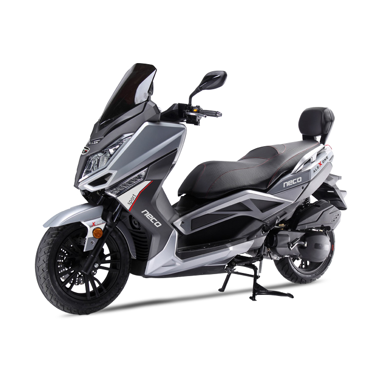 neco alex one 125 large scooter available on finance and uk delivery. Black Bedroom Furniture Sets. Home Design Ideas