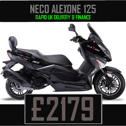 Neco Alexone 125 Large 2 seater scooter