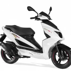 Rieju RS Sport Scooter 50LC 50 White