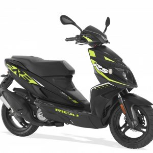 Rieju RS Sport Scooter 50LC Nkd 50 Black/Fluo