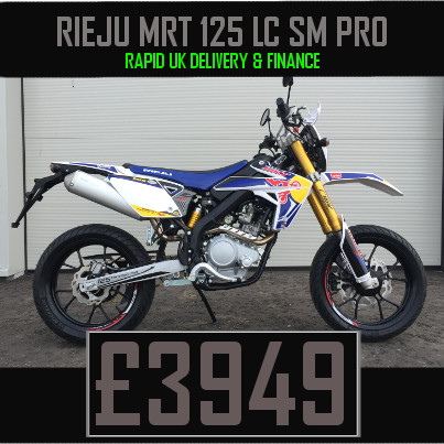 Rieju MRT 125 LC SM Pro 125cc Motorcycle on finance