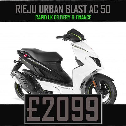 Rieju Urban Blast 50 50cc Scooter on finance