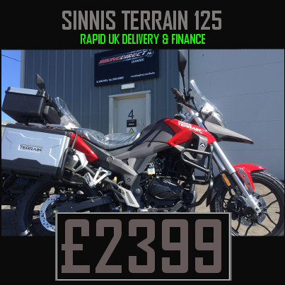 Sinnis Terrain 125 125cc Enduro Motorcycle Finance Nationwide Delivery