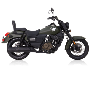 UM Renegade Commando 125 125 Black
