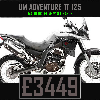 UM Adventure TT 125 125cc Adventure bike on Finance