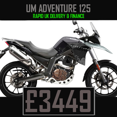 UM Adventure 125 125cc Adventure bike on Finance