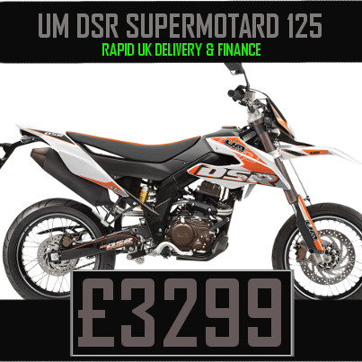 UM DSR Supermotard 125 125cc Supermoto on Finance