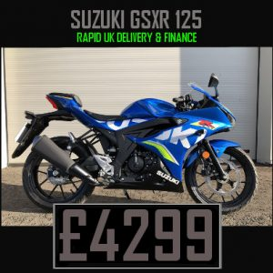 Finance Suzuki GSXR 125 & Nationwide Delivery
