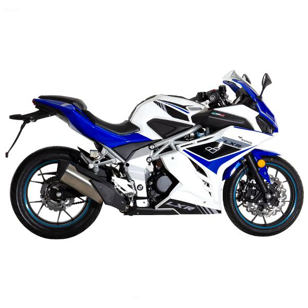 Lexmoto LXR125 White Blue - Right