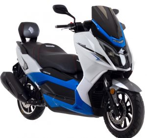 Lexmoto Chieftain blue